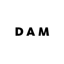 DDAA dam digital art award DAM Logo inversDDAA dam digital art award Sponsor DAM Logo invers